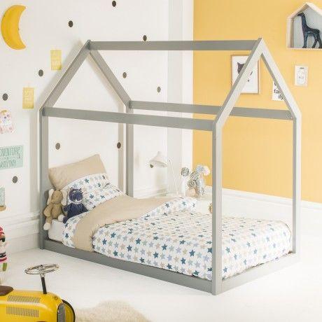 inspir des m thodes p dagogiques montessori ce tr s joli lit enfant cabane 90x140 tr s. Black Bedroom Furniture Sets. Home Design Ideas