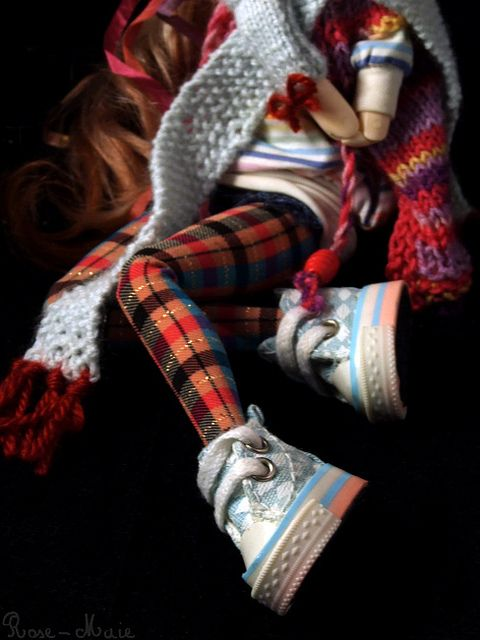 ♥ Pullip's converse  by Zoo*