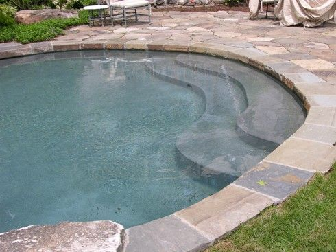 pool coping stone gray | ... coping is a quarried stone with colors ...