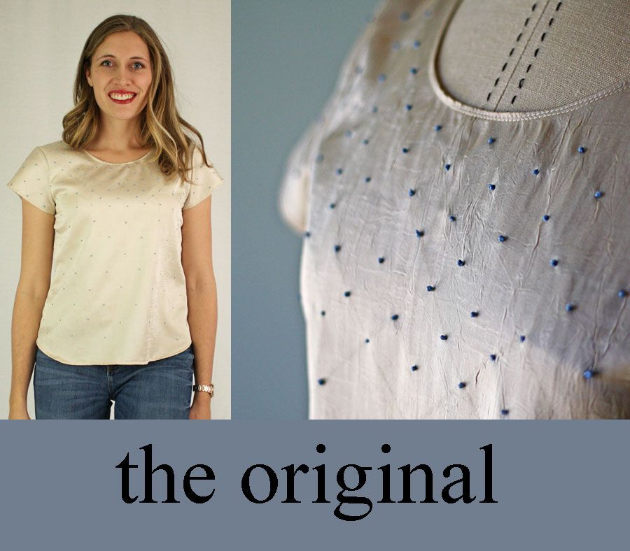 Running With Scissors: Simple Blouse PDF Sewing Pattern   Patterns ...
