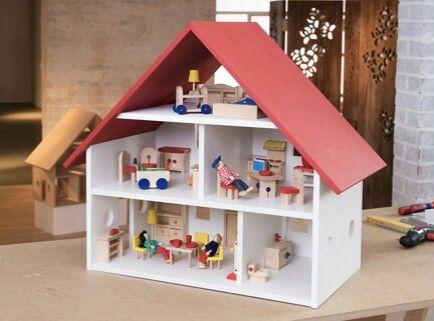 Costruire Una Casa Delle Bambole Di Legno : Accomodatevi nel salotto buono. casa delle bambole sapendo come