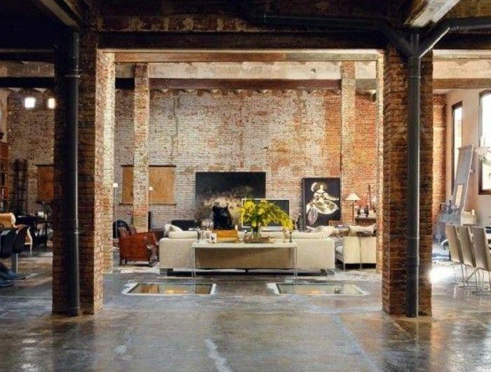 Mille Et Une Idees Pour Le Salon Style Industriel En 44 Photos Voyez Les Dernieres Tendances Arquitectura Interior Lofts Modernos Y Loft Diseno