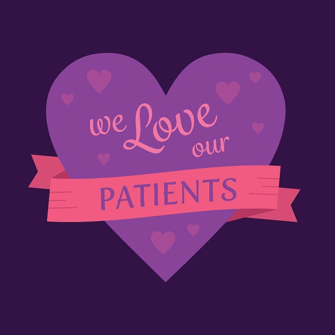 Happy valentines day to the best patients in the world