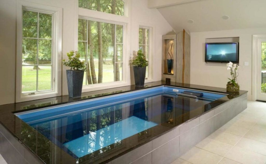 Pingl sur pools for Pool design indoor