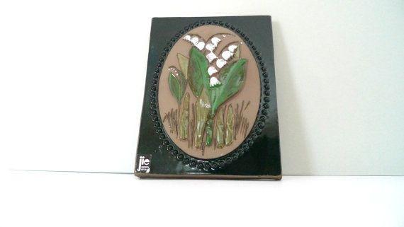JIE Gantofta Ceramic  Vintage Swedish Plaque   by TheScandiShop