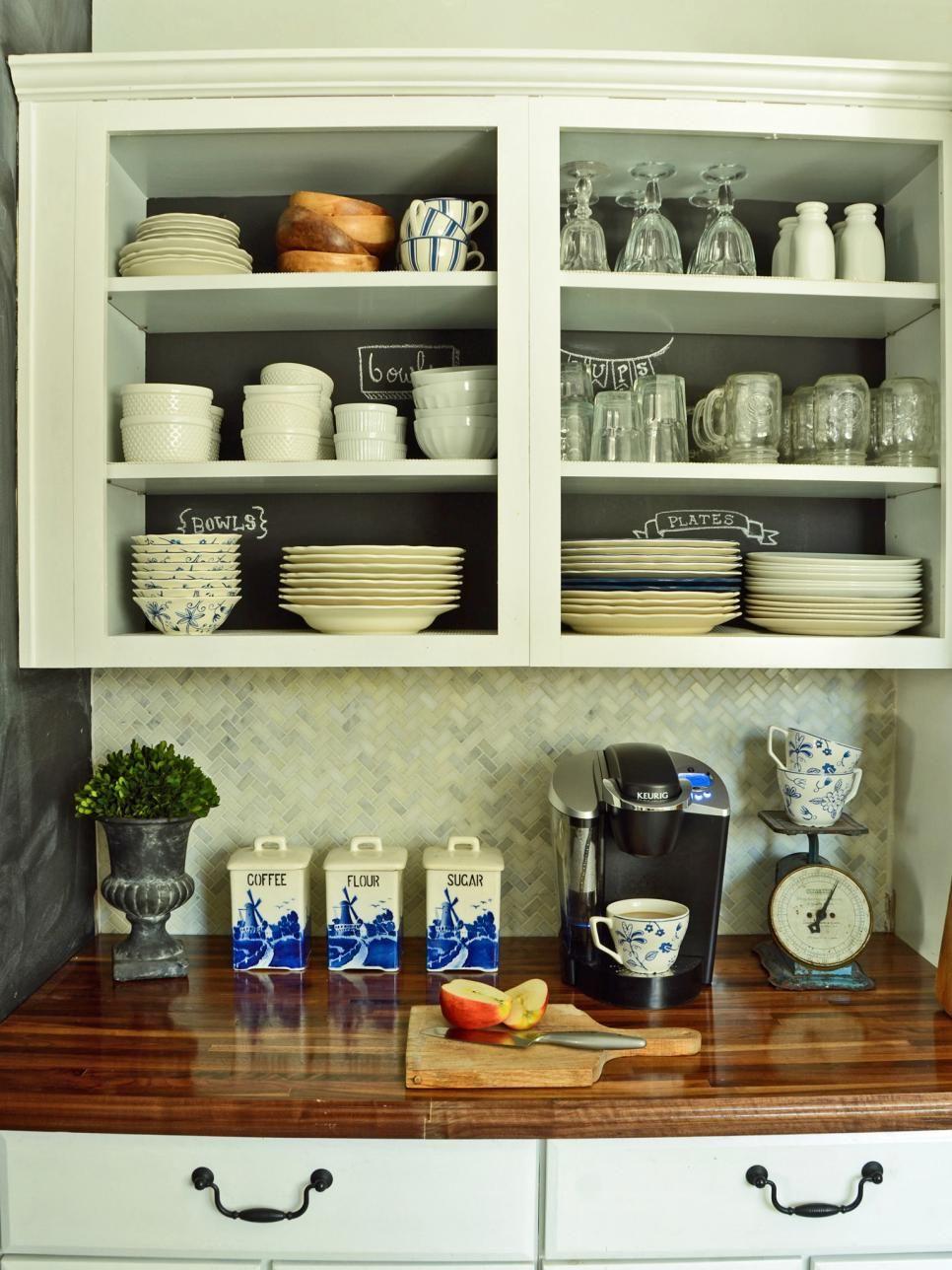 White Open Shelf Kitchen Cabinets Open Shelving Kitchen Cabinets
