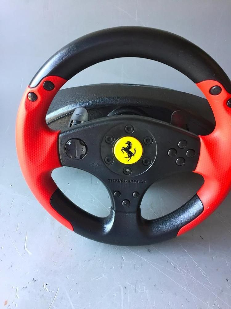 Thrustmaster Ferrari Racing Wheel Only Red Legend Edition As Is