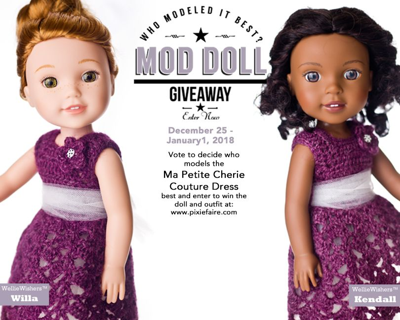 Enter to win a Welliewishers doll and this darling outfit from Pixie ...