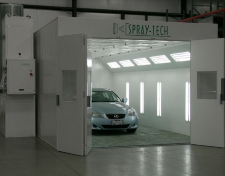 Automotive paint spray booth   Automotive paint booths