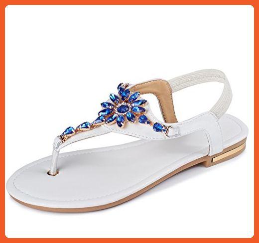 313dd639ddfa9 Beach Shoes Women's Casual Wear Rhinestone Sandals Diamond Summer ...