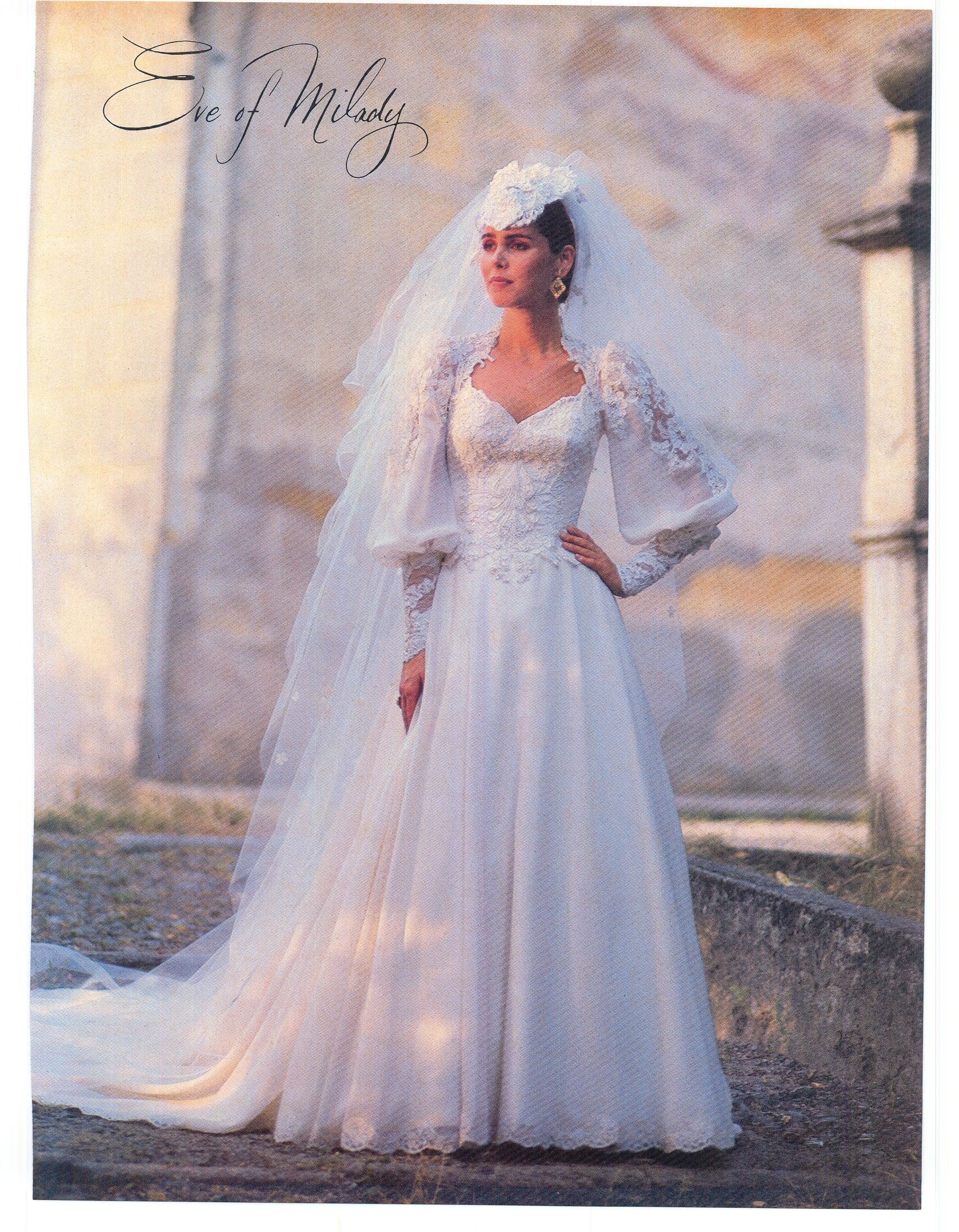 April May 1985 Brides Magazine I Really Love These Sleeves