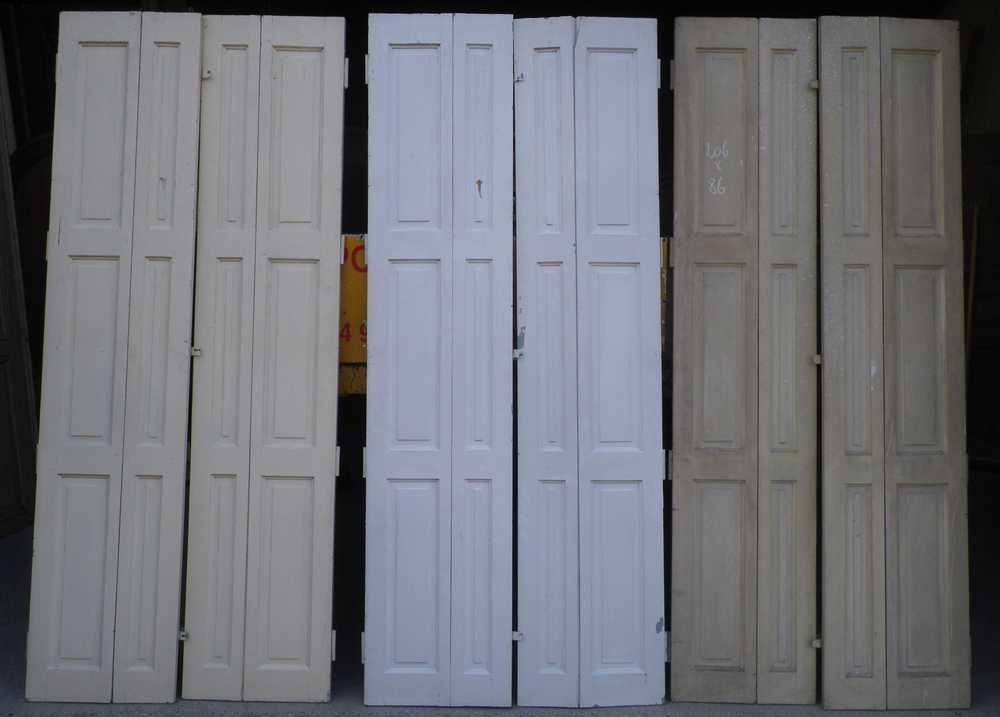 volets interieur en pin portes et fenêtres pinterest