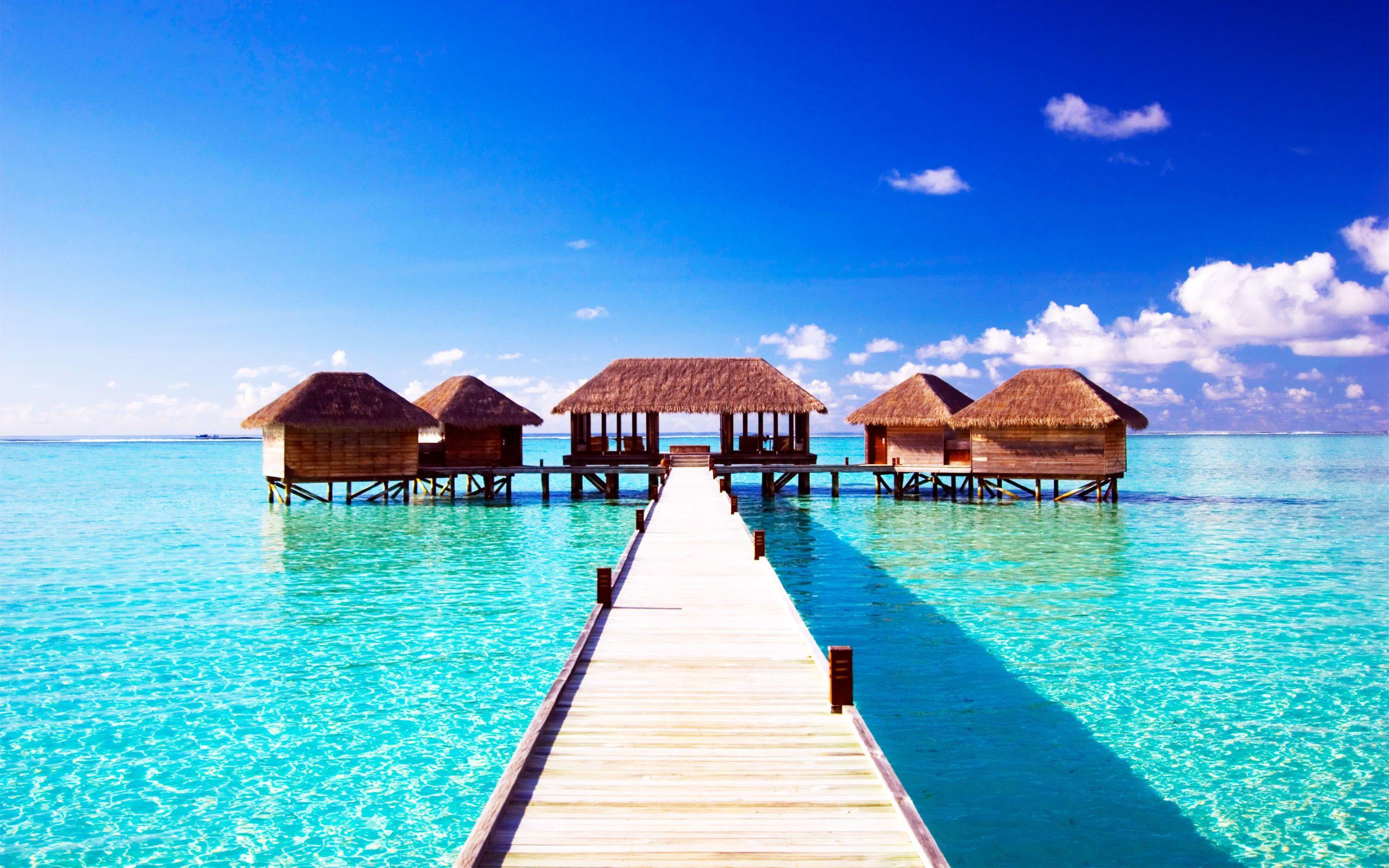 Travel Wallpapers Hd Wallpaper Holiday Resort Maldives Top