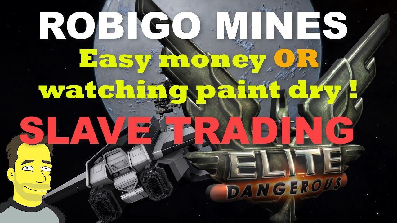Elite Dangerous Robigo Mines - Easy money or watching paint dry