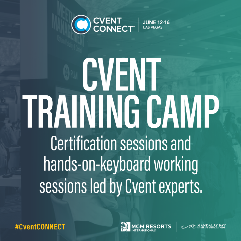 Learn about Cvent Training Camp sessions and all of the different ...
