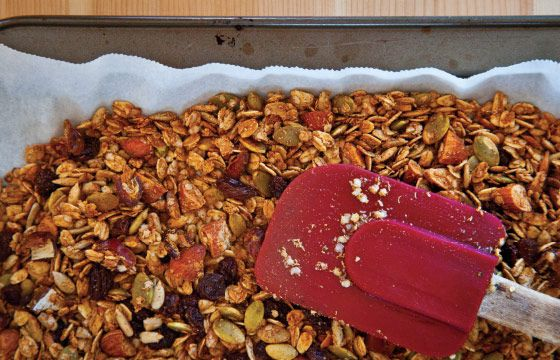 Vegan ang gluten-free granola from Cook with Kindness.