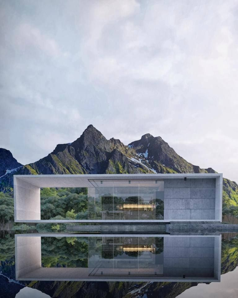 Modern House Design Phd 2015015: Современная архитектура