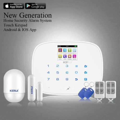 Gsm Wireless Wired Home Intrude Burglar Alarm System Accessories For Keuri G19 Home Security Alarm System Alarm System Burglar Alarm