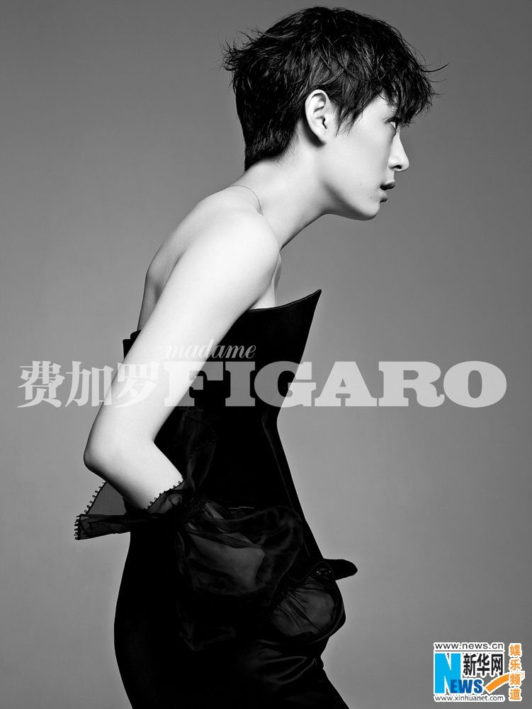 "'The Legend of Zhen Huan' star Sun Li looks sexy in her photo shoot for Figaro, telling the magazine ""I just want to take on new challenges."""