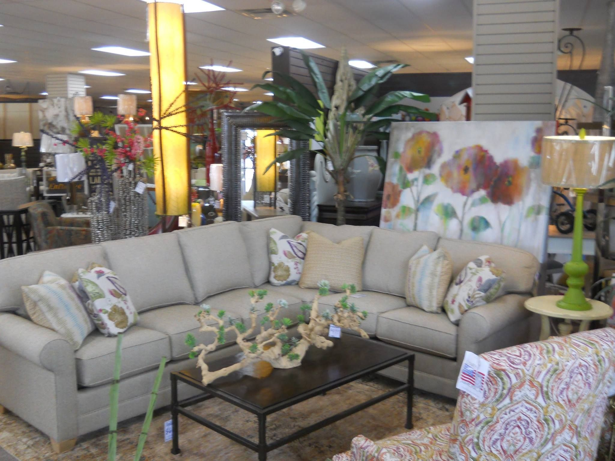 King Hickory Sectional From Arkansas Furniture In Hot Springs Home