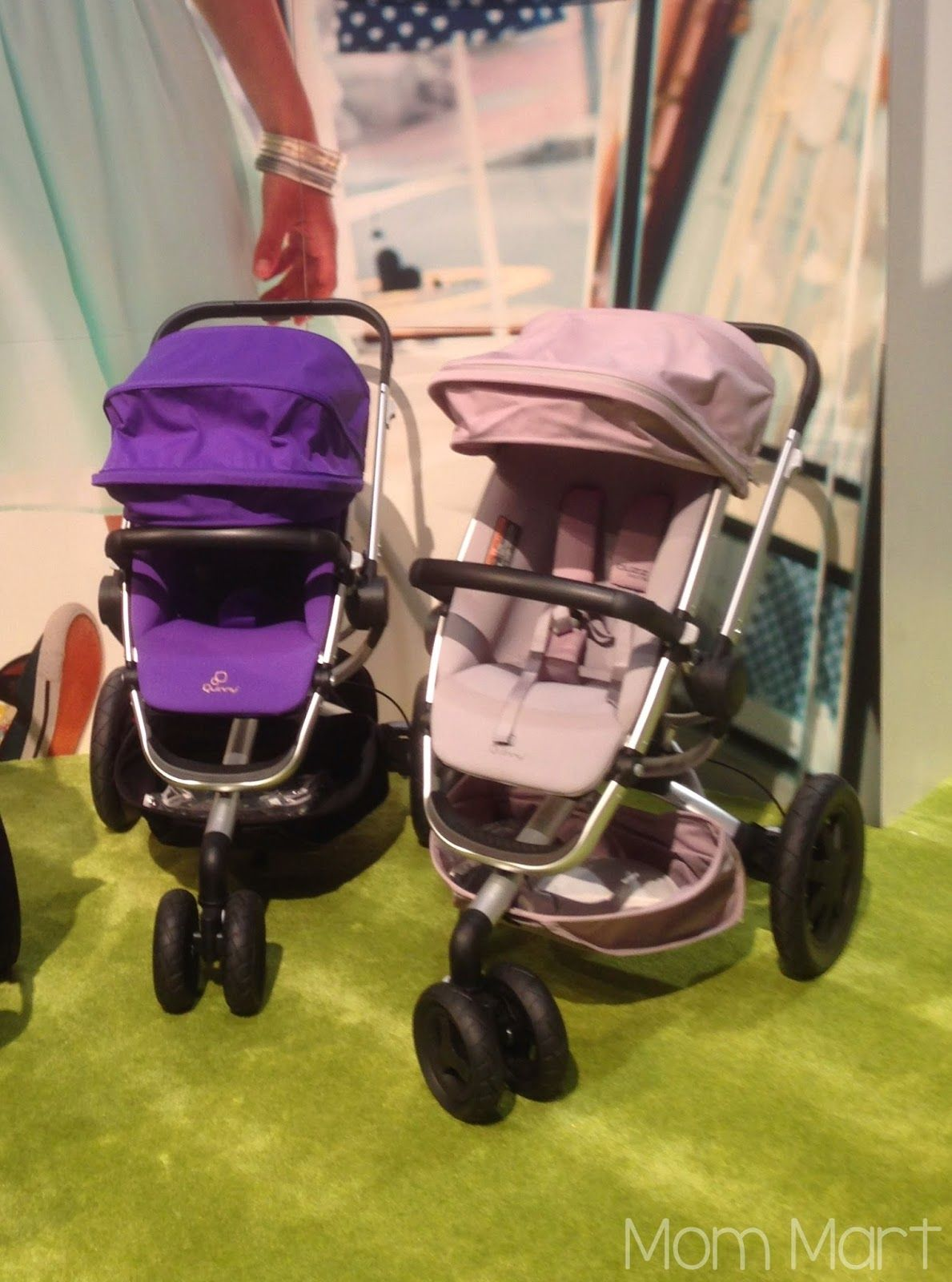 ABCKids14 Expo Quinny Buzz Xtra revamped canopy design