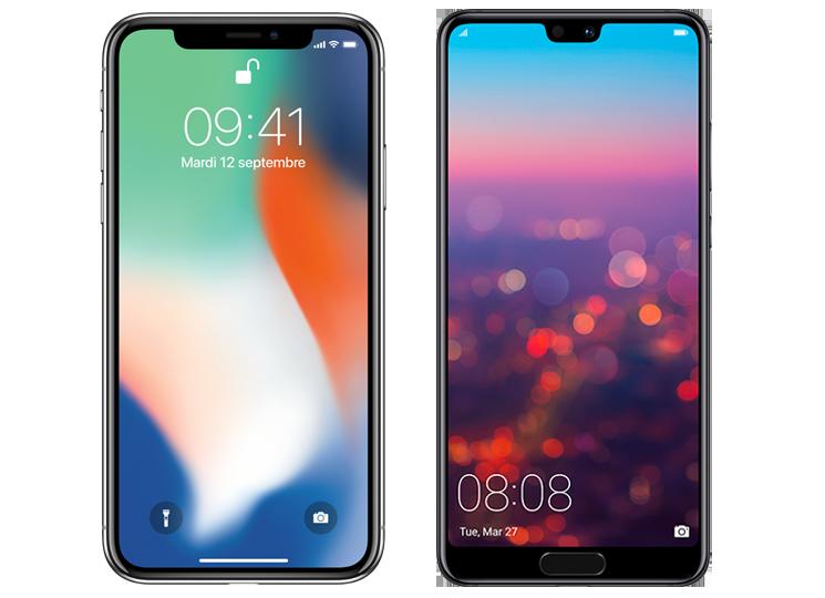 Comparatif Iphone X Vs Huawei P20 Pro Lequel Choisir