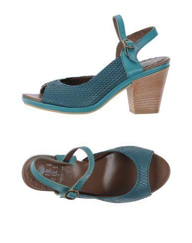LILIMILL Sandals Deep jade Women
