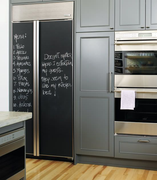 Chalkboard Paint Ideas Inspirations For The Kitchen Walls