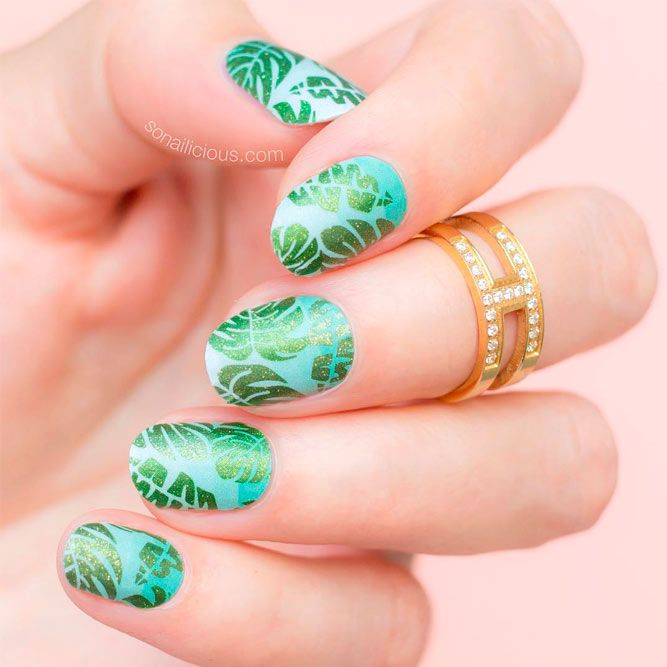 50 Cool Tropical Nails Designs For Summer | Nail designs pictures ...