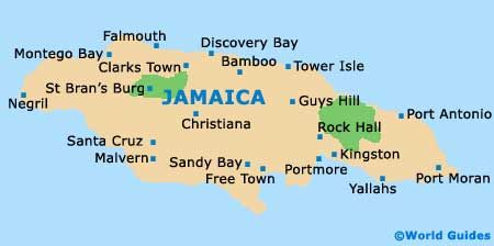 Jamaica On Map Of World.Jamaica Map Jamaica To Do Pinterest Jamaica Tourism Jamaica