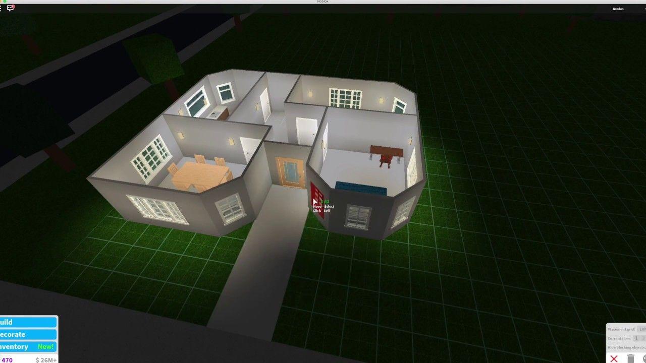 Roblox Bloxburg House Design In 2020 Modern Suburban House