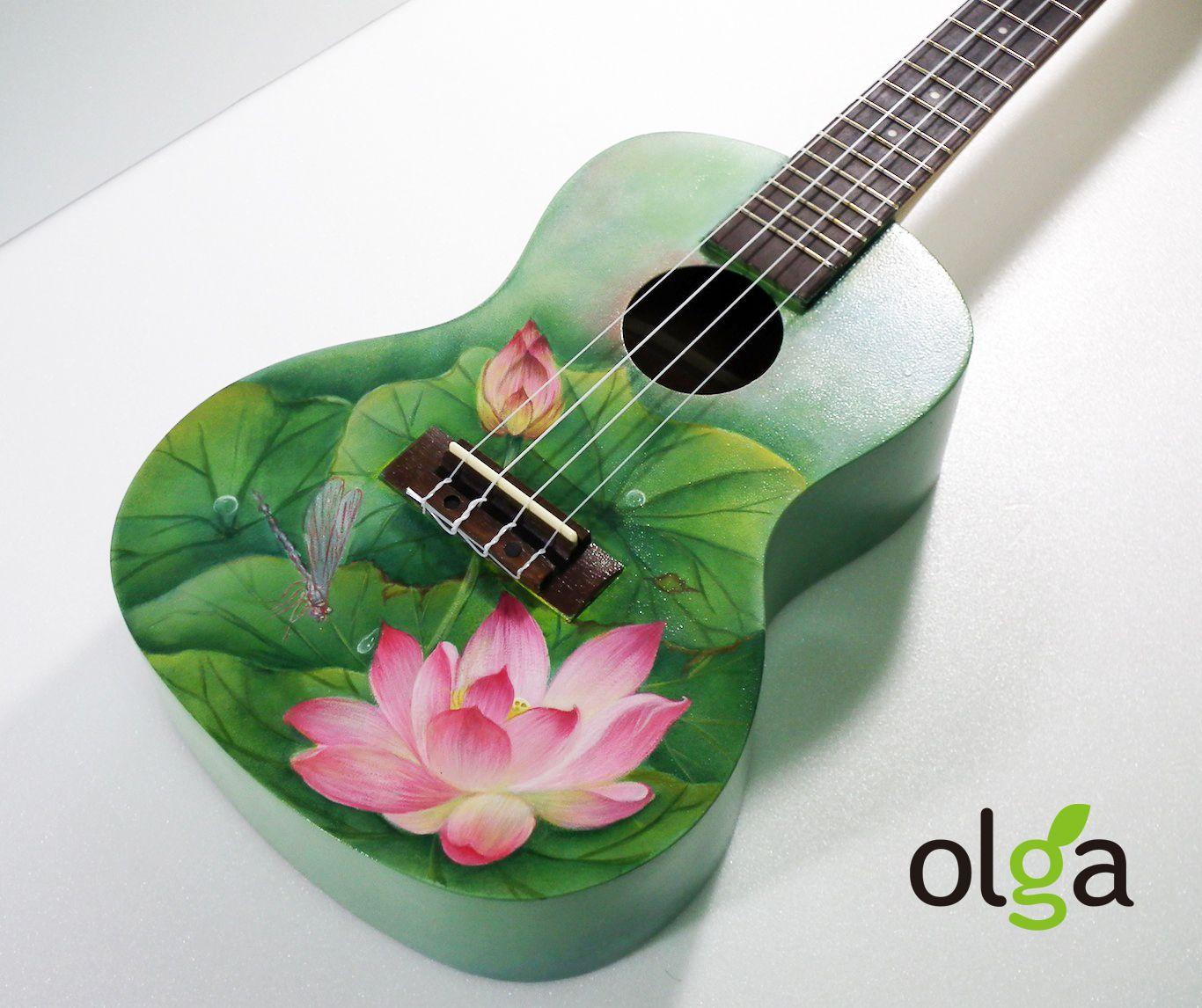 Lotus Ukulele Ukulele Play Pinterest Ukulele Guitar