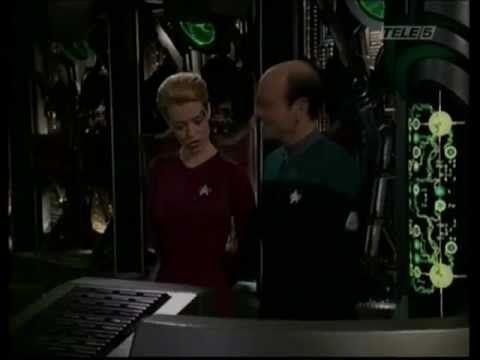 ST-Raumschiff Voyager - Seven und Doc singen 'U are my sunshine'