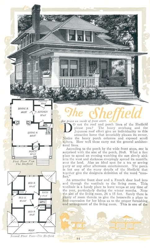 Pin By Stacie Mongold On Miscellaneous Craftsman Bungalow House Plans Square House Plans Vintage House Plans