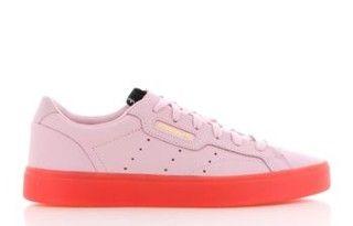 Adidas Sleek W RozeRood Dames | BD7475 | Sneakers.nl