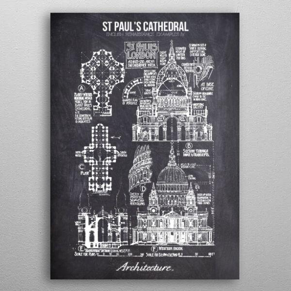 english renaissance by FARKI15 DESIGN | metal posters - Displate | Displate thumbnail