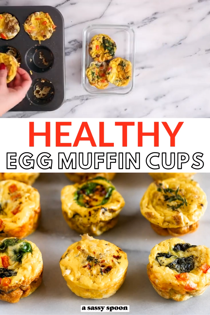 Healthy Breakfast Egg Muffins -   19 meal prep recipes healthy breakfast ideas