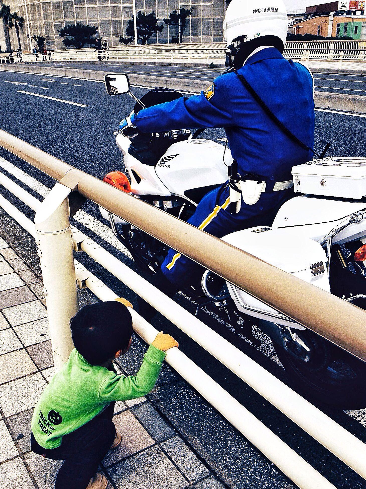 湘南マラソン 白バイに夢中 2013.11.03