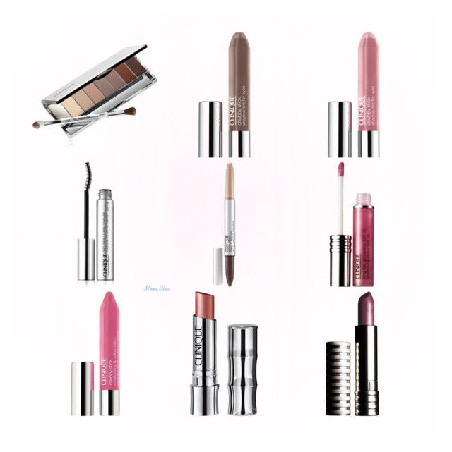 """""""Clinique Eyes and Lips Make up"""" by moon-blue ❤ liked on Polyvore featuring beauty and Clinique"""