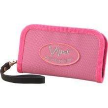 Casemaster 36-0802-12 Deluxe Pink Nylon Dart Case