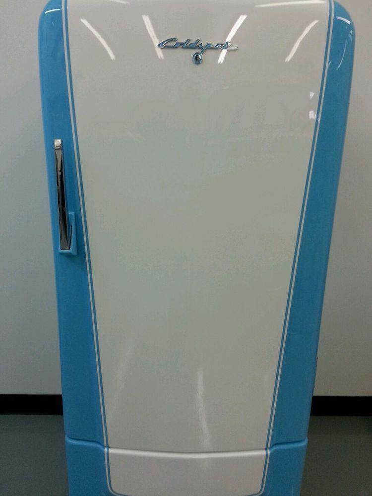 Restored Vintage Sears / Roebuck Coldspot Refrigerator fridge full ...