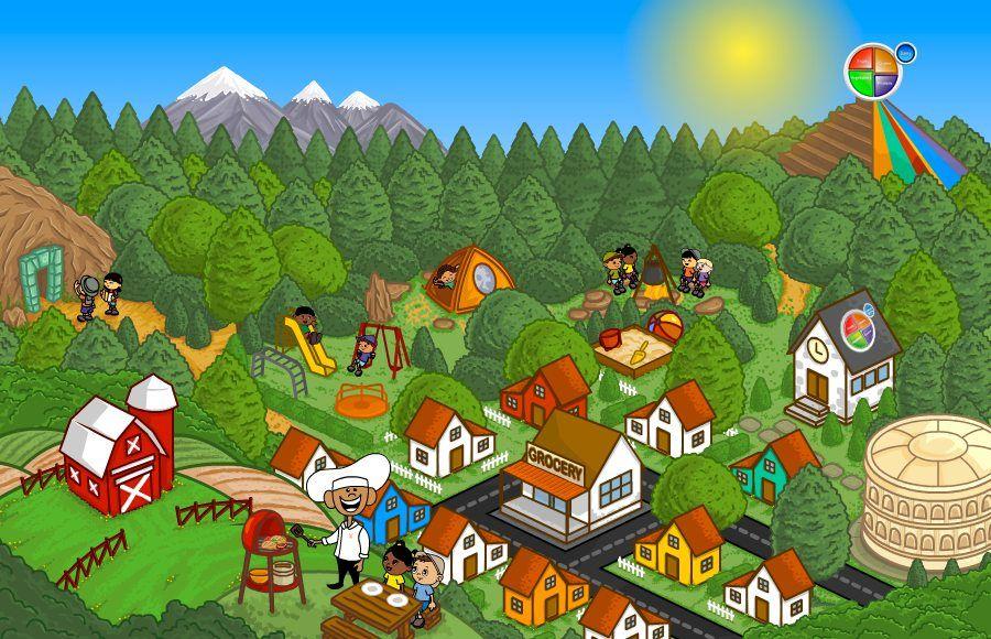 Kids' Fun Food Games Play Solusville Free Healthy Food