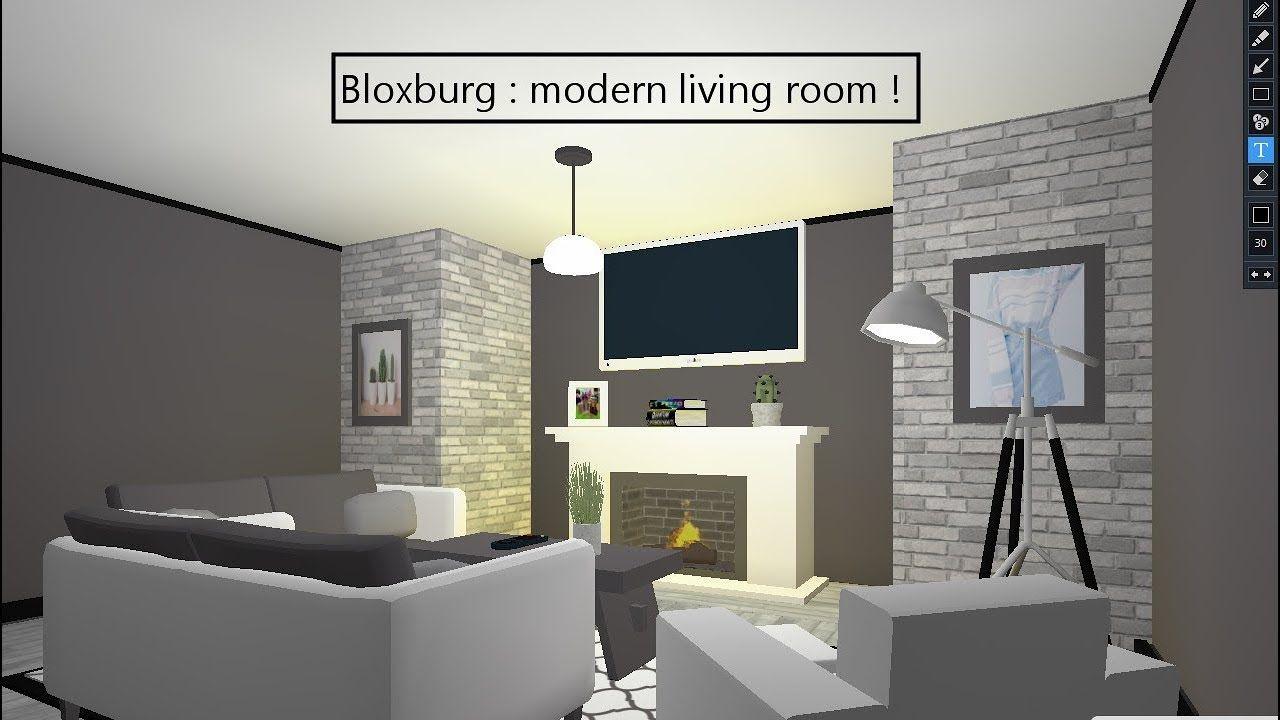 Modern Living Rooms In Bloxburg #homedecor #livingroom # ...