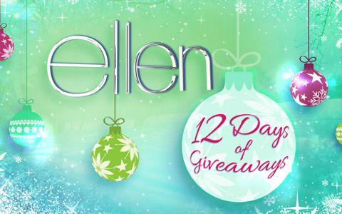 Ellen degeneres 12 days of giveaways day 4