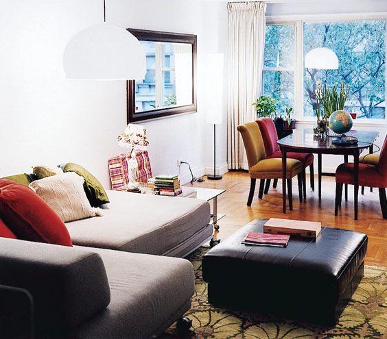 Ambientes con paredes blancas en el caso del comedor, lo ideal es ...