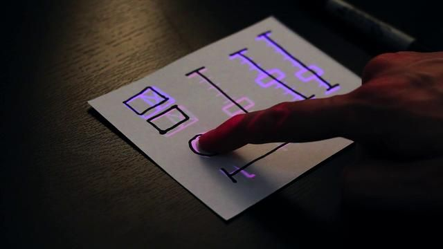 SketchSynth by Billy Keyes Lets You Draw A UI On Paper, Then Turns It Into A Touch Screen