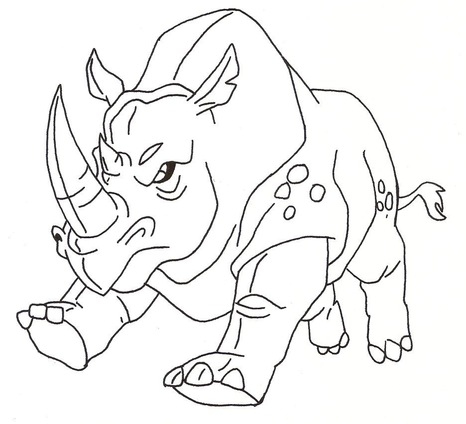 Line Drawing Rhino : Pix for gt rhinoceros face outline rhino pinterest