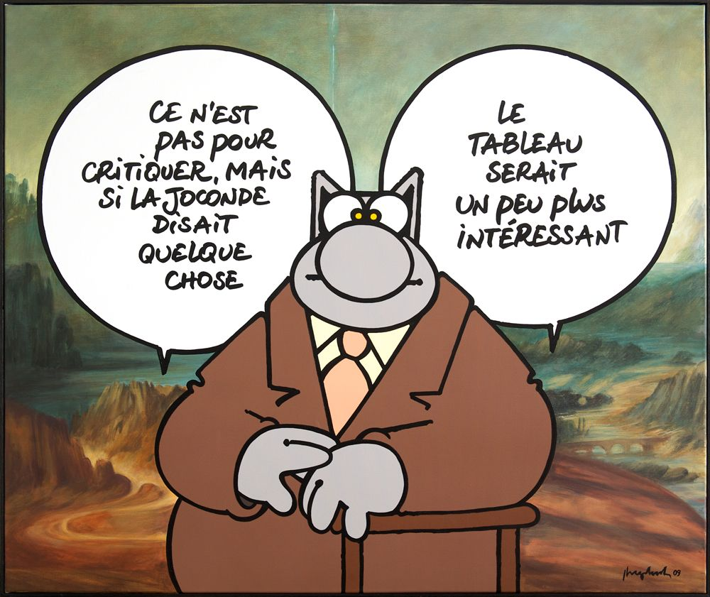 le chat bande dessinee philippe geluck