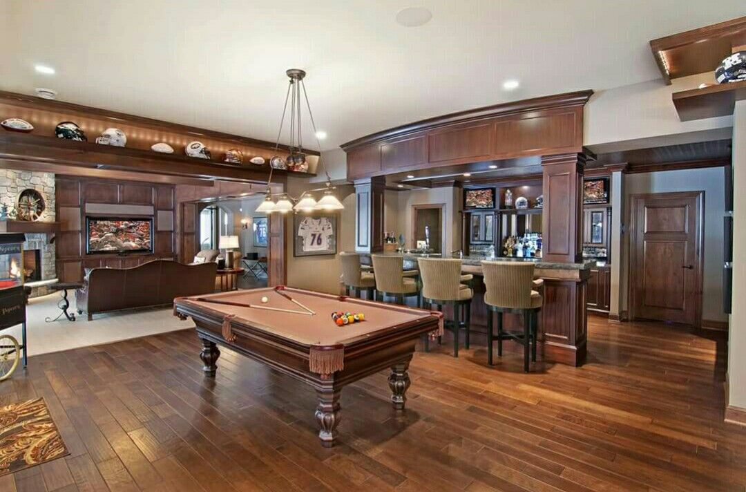pin by teresa yarbrough on home sweet home billiard room on incredible man cave basement decorating ideas id=12710