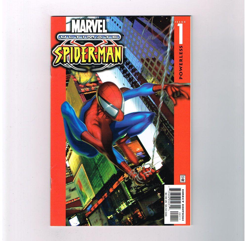 ULTIMATE SPIDER-MAN (v1) #1 First print Modern Age find from Marvel! Grade 9.2 http://r.ebay.com/W2fCmR